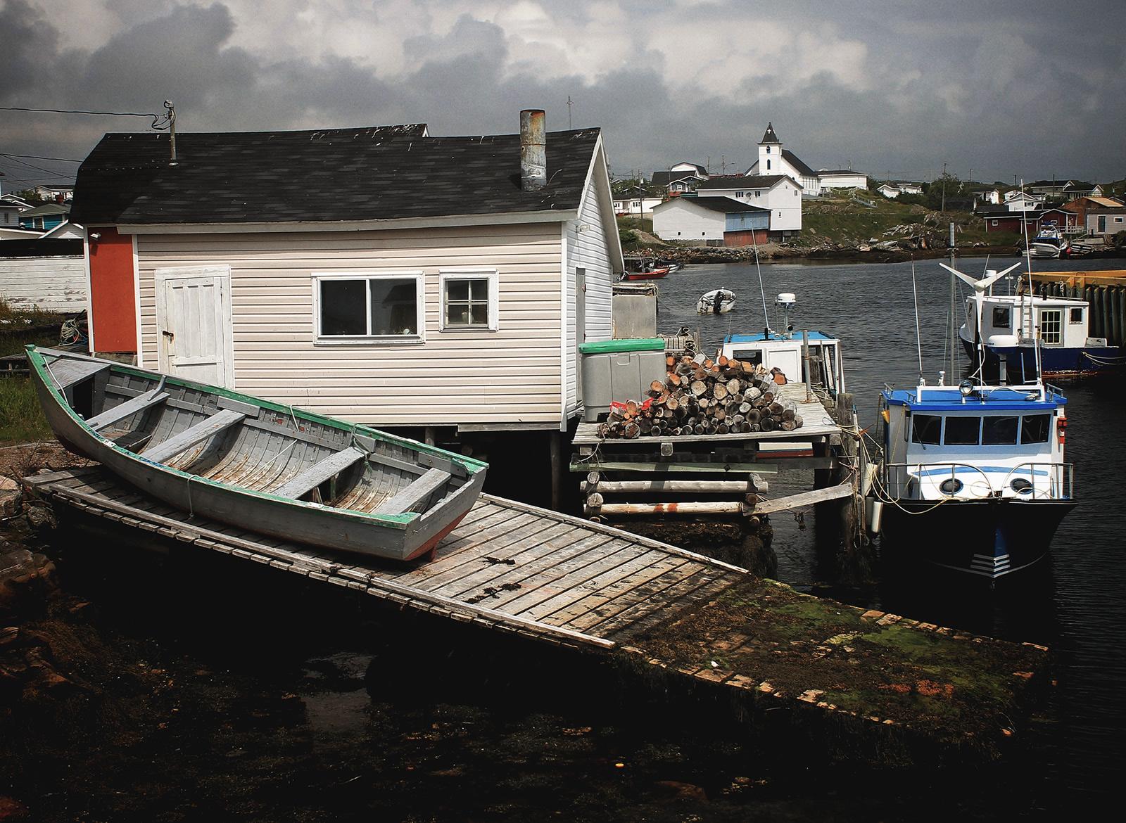 Newfoundland, Canada_Boathouse.C.Poitevin