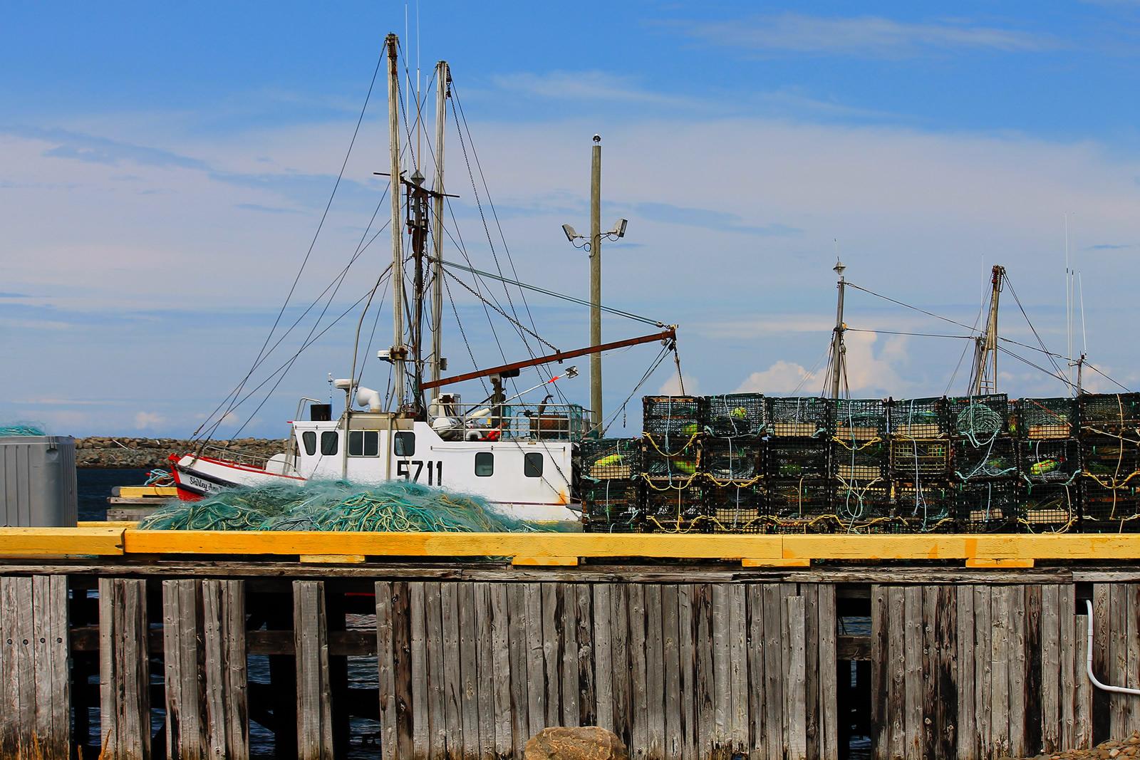 Newfoundland, Canada_Lobster traps.C.Poitevin