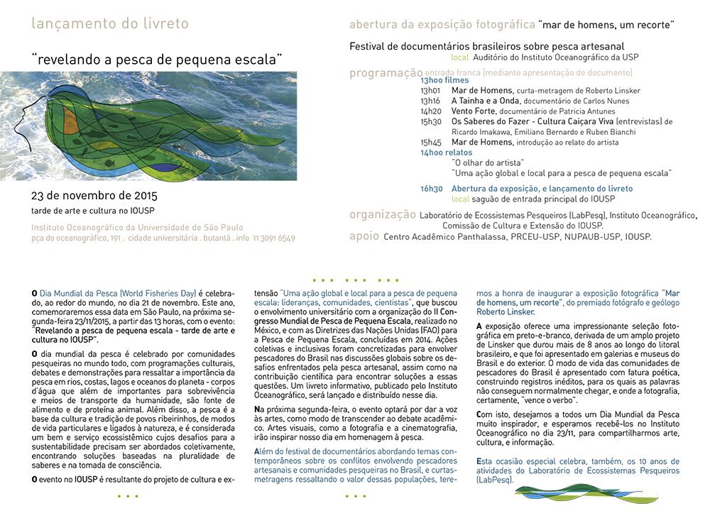 Dia Mundial da Pesca na USP