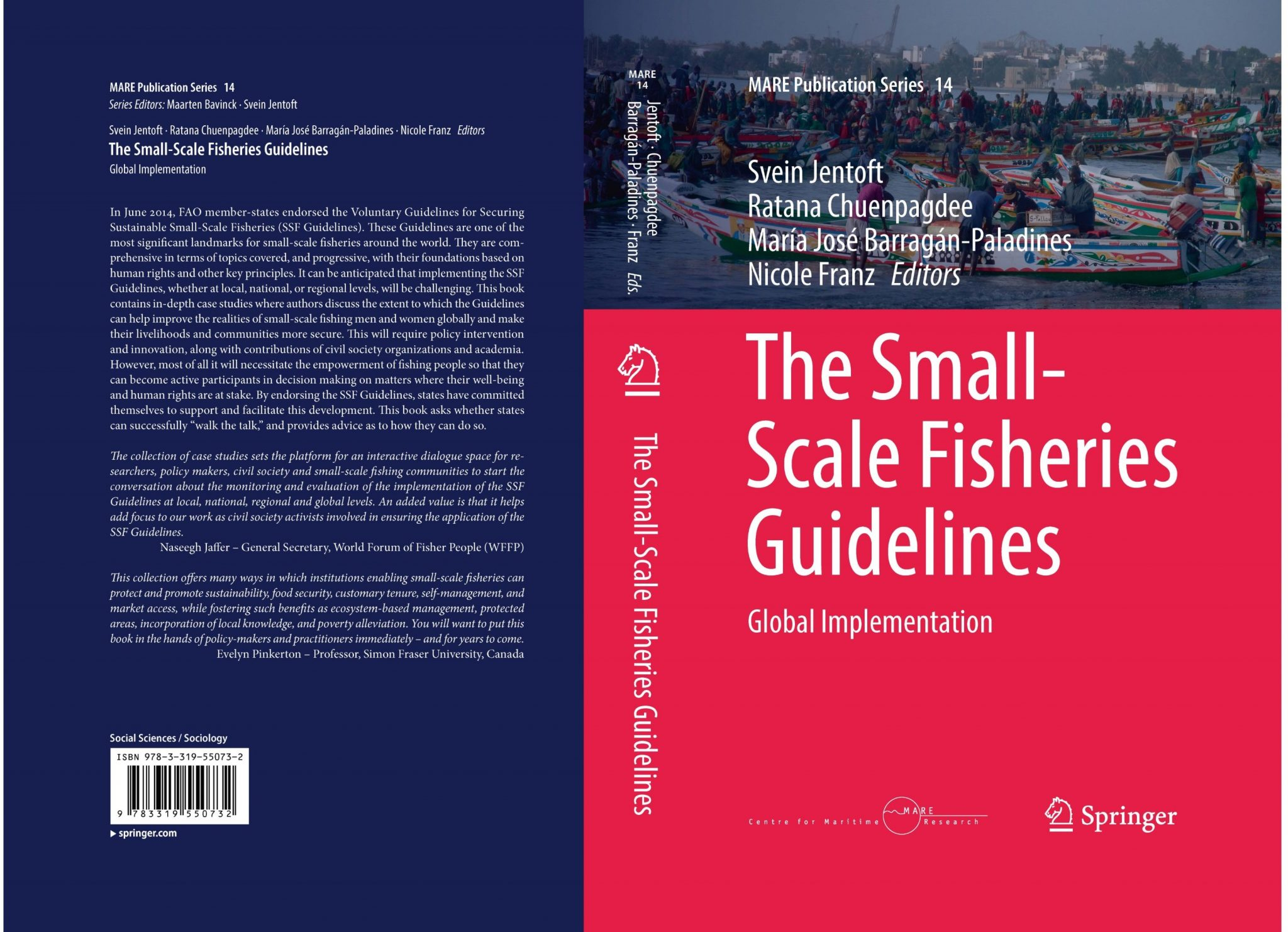 TBTI publishes a book on the Small-Scale Fisheries Guidelines