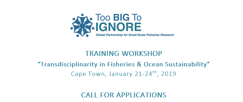 Call for application: Training workshop